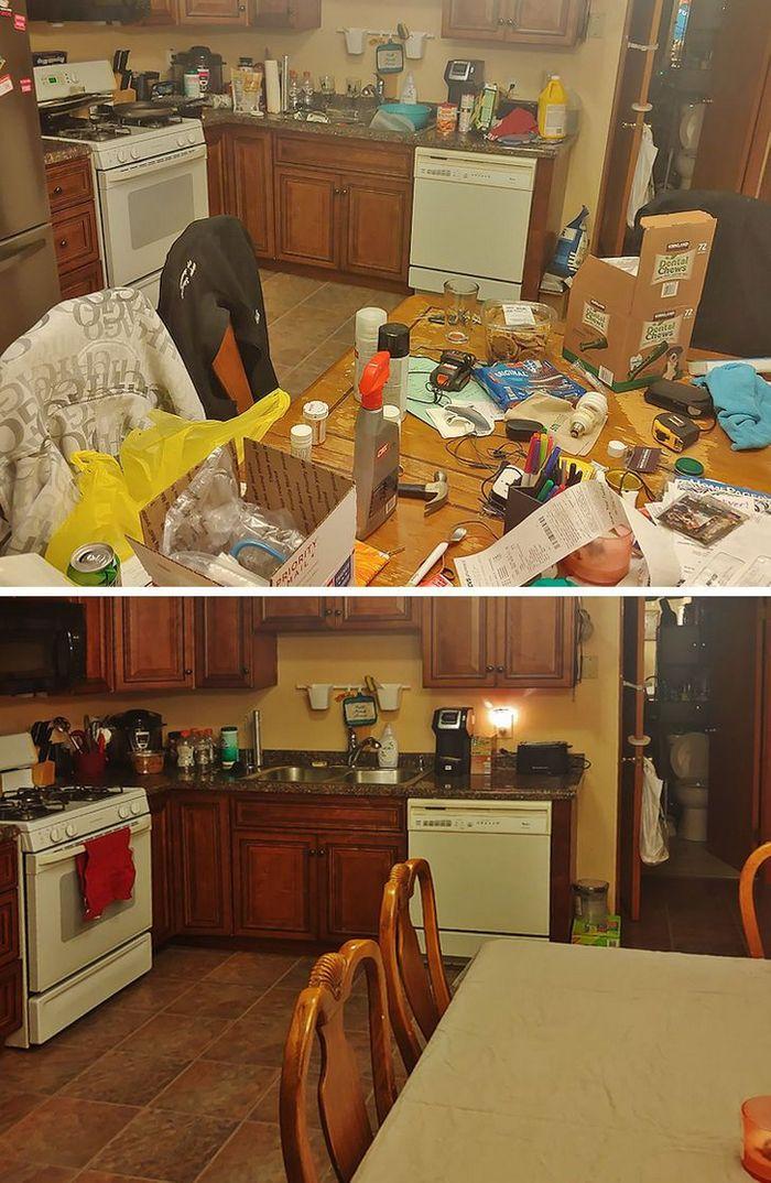 17 fotos de antes e depois que mostram o poder mágico da limpeza 9
