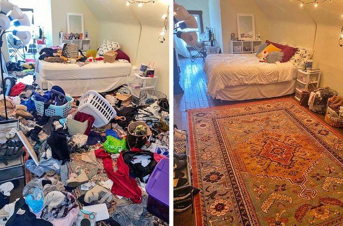 17 fotos de antes e depois que mostram o poder mágico da limpeza 12