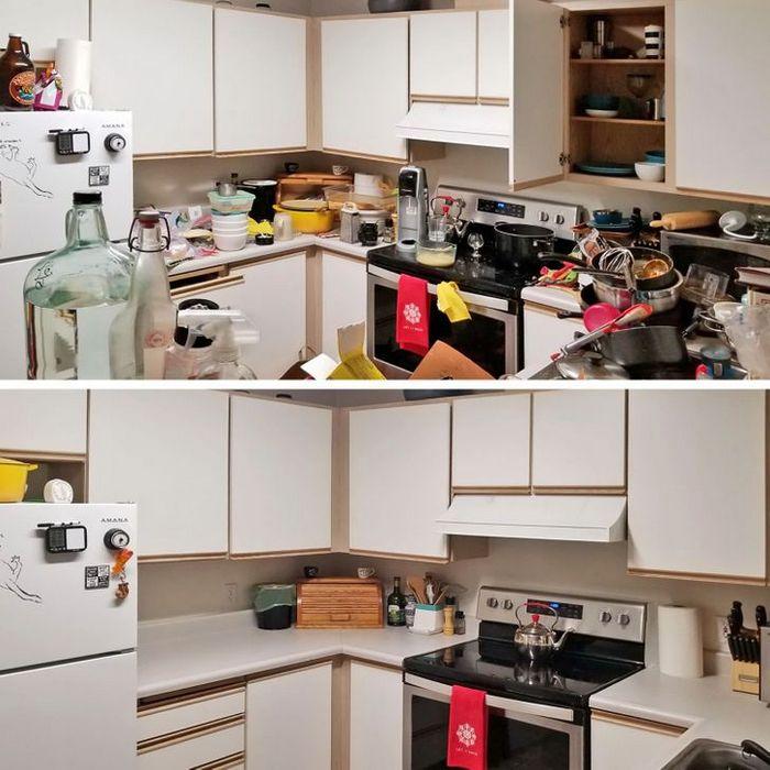 17 fotos de antes e depois que mostram o poder mágico da limpeza 13