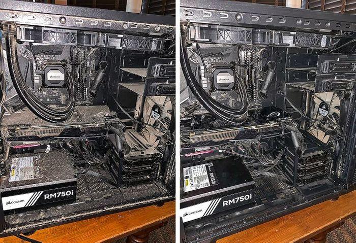 17 fotos de antes e depois que mostram o poder mágico da limpeza 16