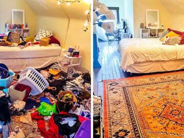 17 fotos de antes e depois que mostram o poder mágico da limpeza 35