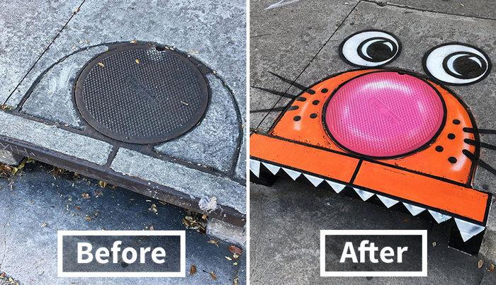 Há um artista de rua gênio correndo solto nas ruas, e vamos esperar que ninguém o pegue 20