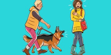 Por que o cachorro late para algumas pessoas e outras não? 13