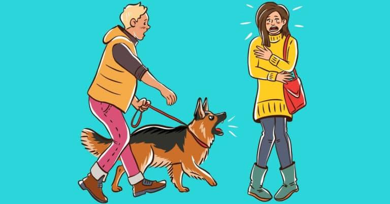 Por que o cachorro late para algumas pessoas e outras não? 1