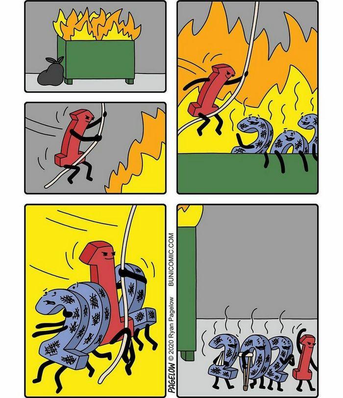 36 quadrinhos fofos com finais não tão fofos 37