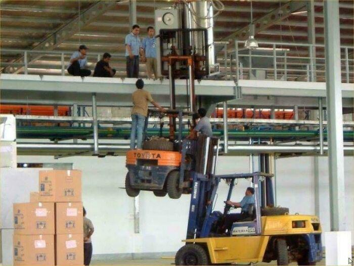 Segurança no trabalho: Pessoas são imortais com essas gambiarras 23