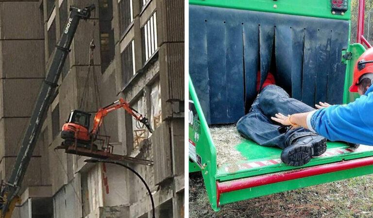 Segurança no trabalho: Pessoas são imortais com essas gambiarras 129