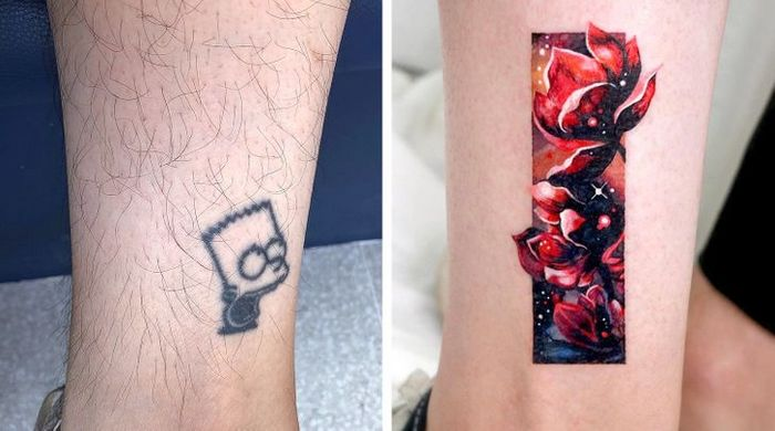 Um artista transforma tatuagens em cenas de outro mundo 2