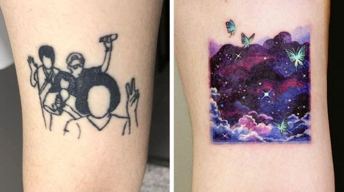 Um artista transforma tatuagens em cenas de outro mundo 19