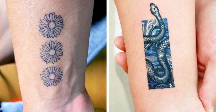 Um artista transforma tatuagens em cenas de outro mundo 20
