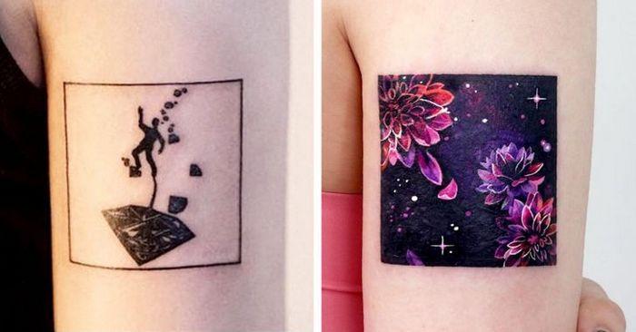 Um artista transforma tatuagens em cenas de outro mundo 23