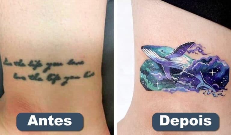 Um artista transforma tatuagens em cenas de outro mundo 96