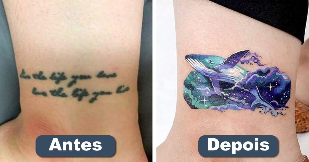 Um artista transforma tatuagens em cenas de outro mundo 22