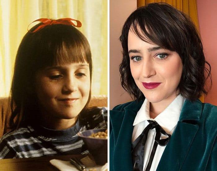27 antes e depois de atores infantis da época, fazendo com que todos se sintam velhos 2