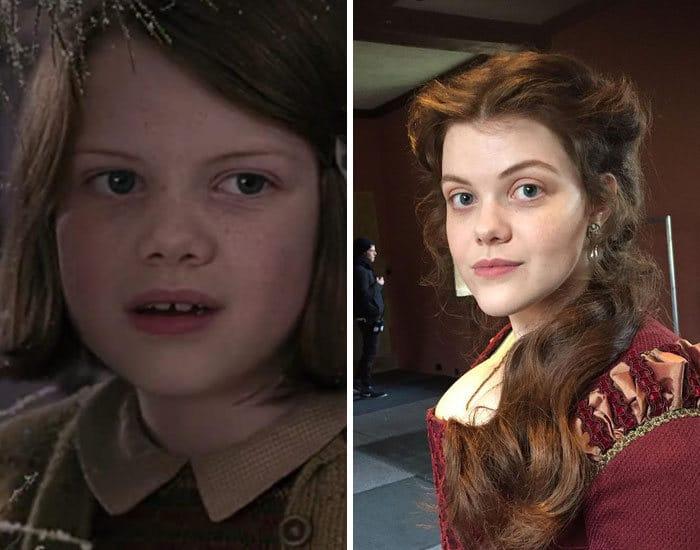 27 antes e depois de atores infantis da época, fazendo com que todos se sintam velhos 3