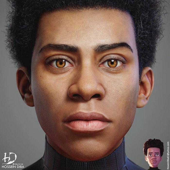 Artista adicionar toques realistas em 31 personagens da cultura pop 4