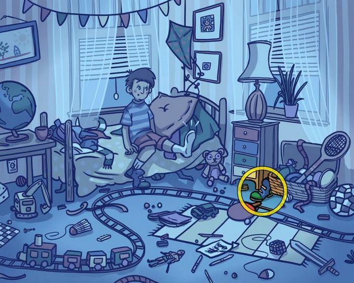 Você consegue encontrar os objetos perdidos nas imagens 8