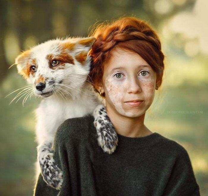 Fotógrafa retratam a forte ligação entre humanos e animais 6