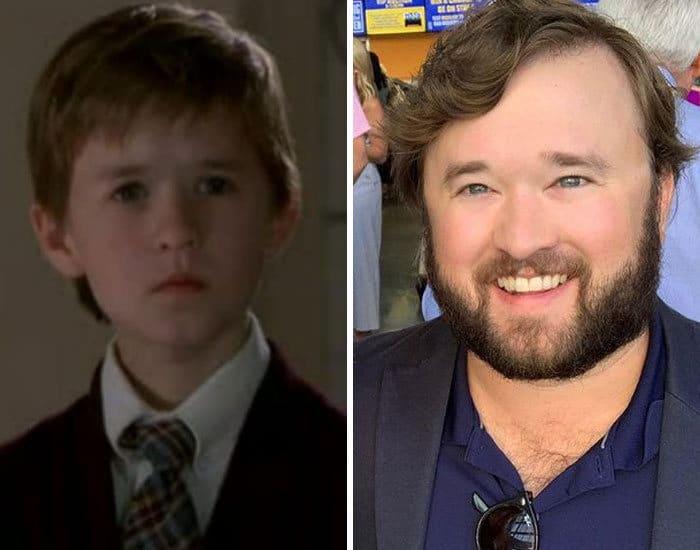 27 antes e depois de atores infantis da época, fazendo com que todos se sintam velhos 7