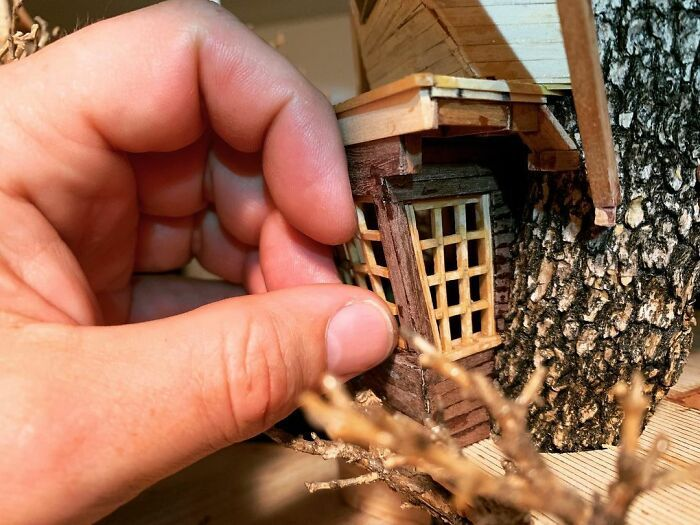 24 fantásticas casas na árvore de bonsai 7
