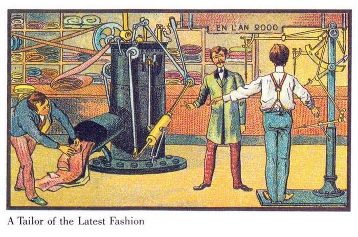 24 Ilustrações legais de artistas do passado que tentaram prever o futuro 7
