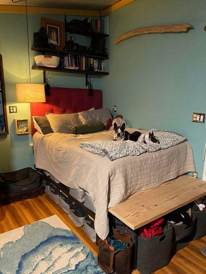 26 pessoas que usaram suas habilidades para organizar sua casa 7