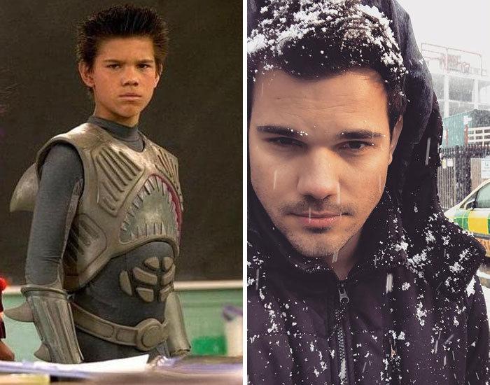 27 antes e depois de atores infantis da época, fazendo com que todos se sintam velhos 8
