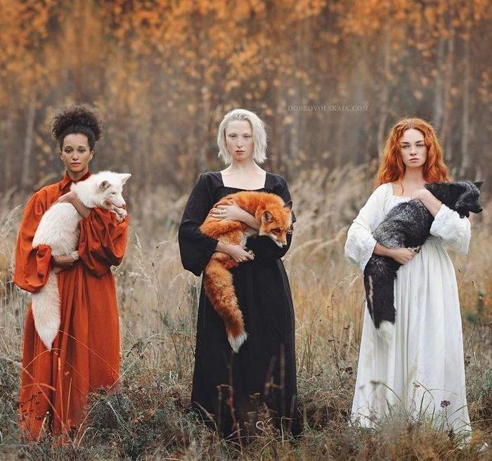 Fotógrafa retratam a forte ligação entre humanos e animais 8