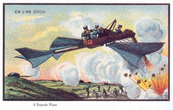 24 Ilustrações legais de artistas do passado que tentaram prever o futuro 8