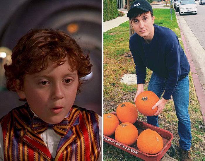 27 antes e depois de atores infantis da época, fazendo com que todos se sintam velhos 9