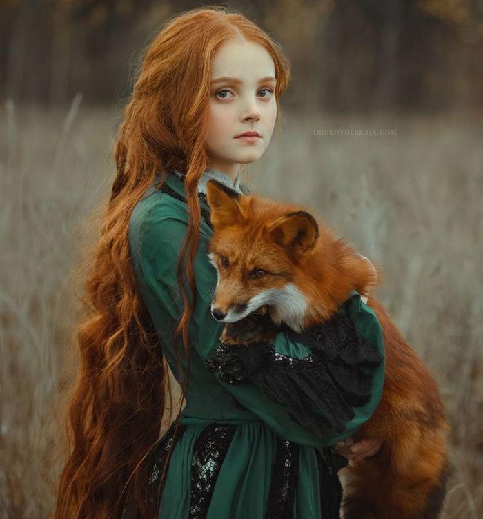 Fotógrafa retratam a forte ligação entre humanos e animais 9