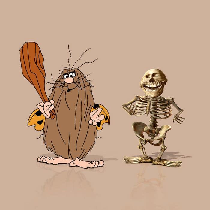 Como seriam os esqueletos de personagens de desenho animados, e isso pode te assustar 10