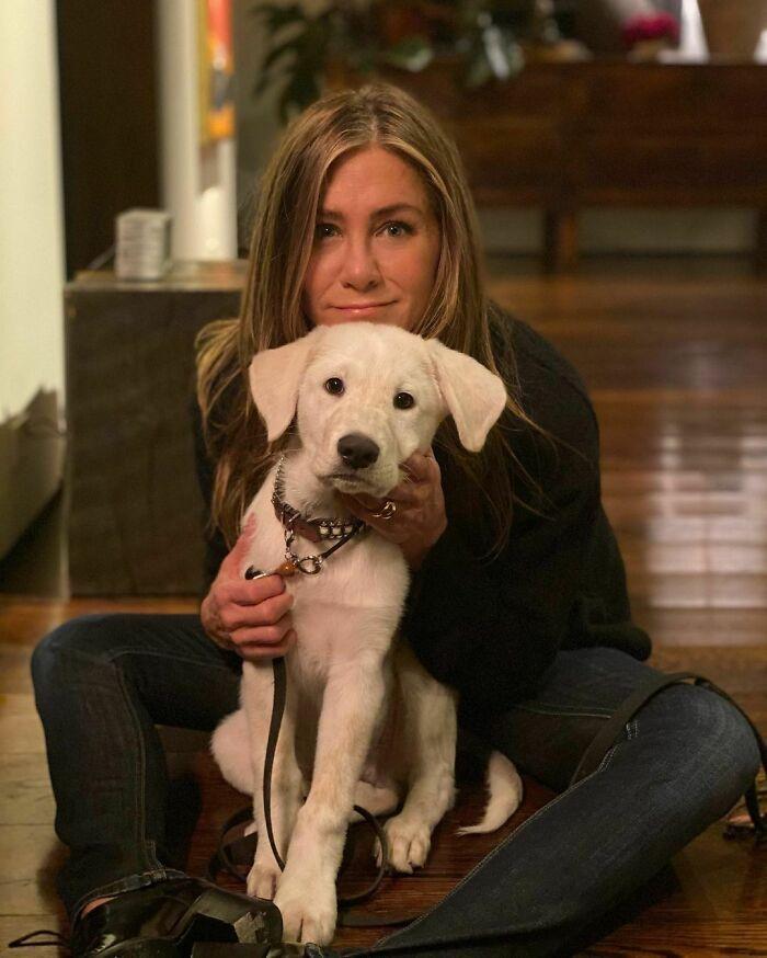 38 celebridades que são verdadeiros amantes de cães 10