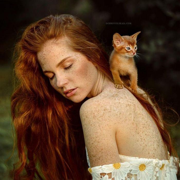 Fotógrafa retratam a forte ligação entre humanos e animais 10