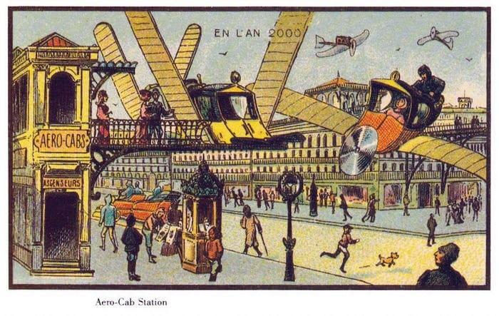 24 Ilustrações legais de artistas do passado que tentaram prever o futuro 10