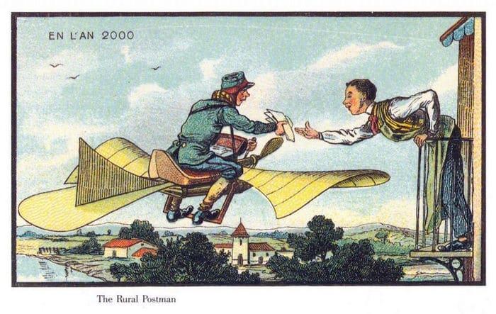 24 Ilustrações legais de artistas do passado que tentaram prever o futuro 11