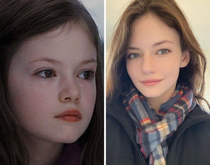 27 antes e depois de atores infantis da época, fazendo com que todos se sintam velhos 13