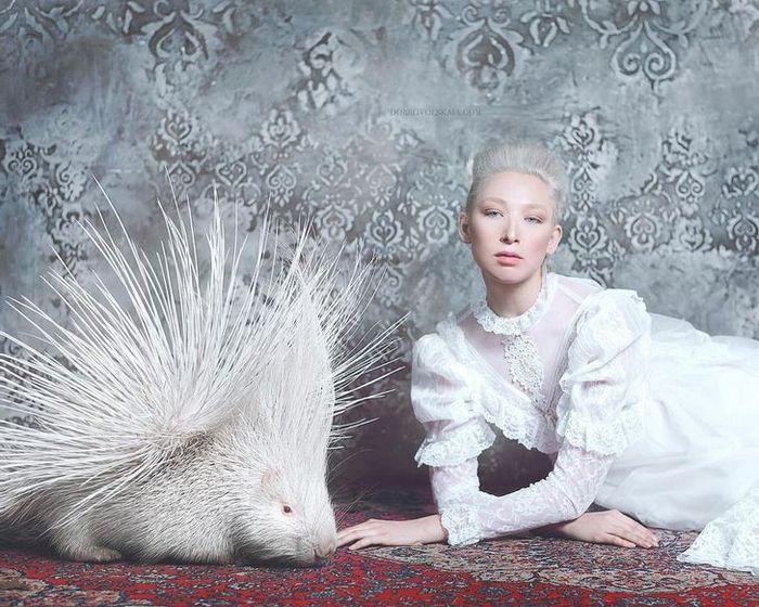Fotógrafa retratam a forte ligação entre humanos e animais 13