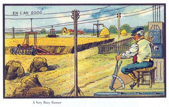 24 Ilustrações legais de artistas do passado que tentaram prever o futuro 14