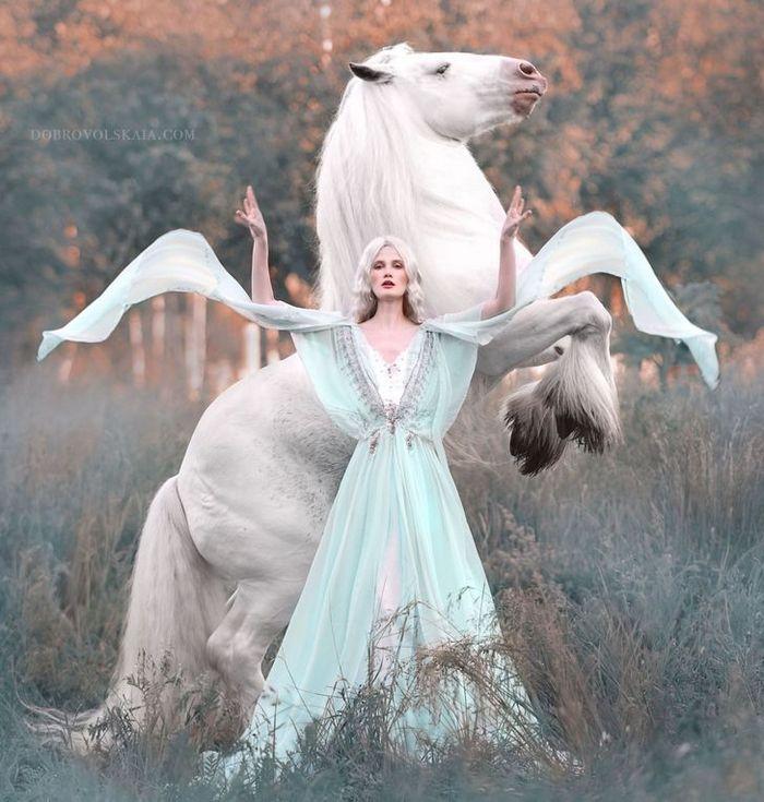 Fotógrafa retratam a forte ligação entre humanos e animais 15