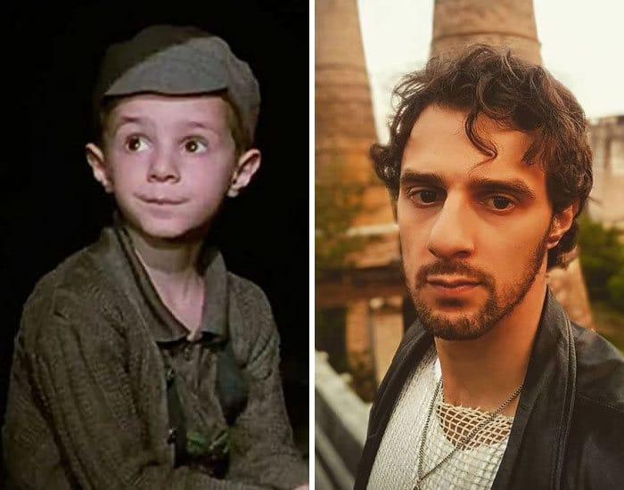27 antes e depois de atores infantis da época, fazendo com que todos se sintam velhos 17