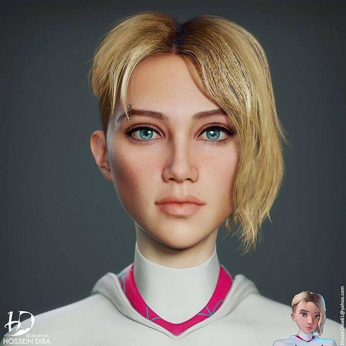 Artista adicionar toques realistas em 31 personagens da cultura pop 17