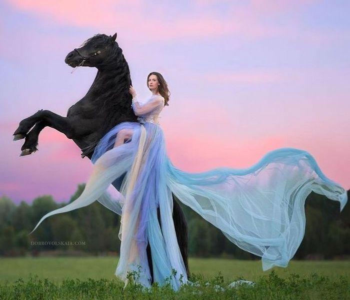 Fotógrafa retratam a forte ligação entre humanos e animais 17