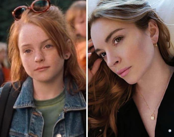 27 antes e depois de atores infantis da época, fazendo com que todos se sintam velhos 18
