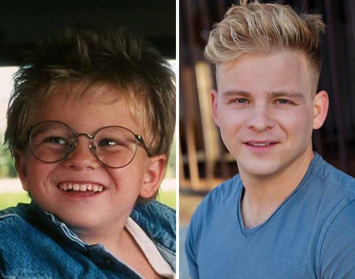 27 antes e depois de atores infantis da época, fazendo com que todos se sintam velhos 19