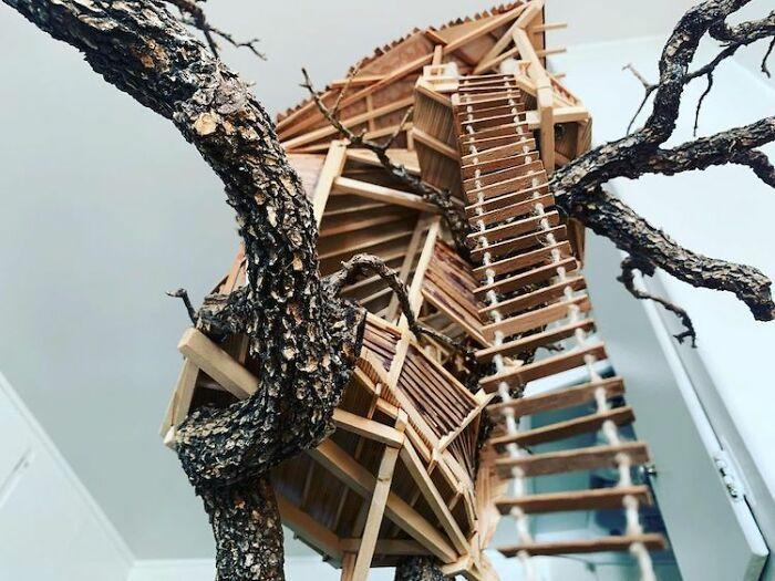 24 fantásticas casas na árvore de bonsai 19