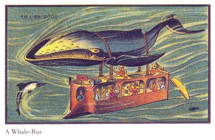 24 Ilustrações legais de artistas do passado que tentaram prever o futuro 19