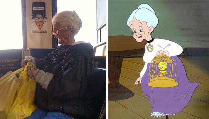 50 pessoas reais que parecem personagens de desenhos animados 19