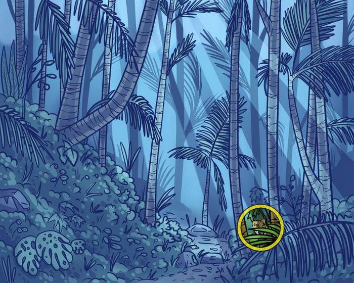 Você consegue encontrar os objetos perdidos nas imagens 38