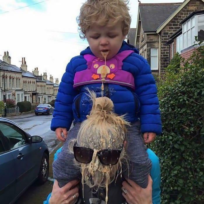 26 fotos divertidas que todos precisam ver antes de ter filhos 20